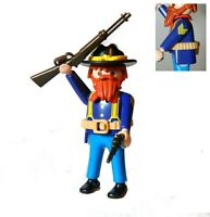 PLAYMOBIL  UNION CAVALRY  NORTH NORDSTAATLER OFFICER SOLDIER AMERICAN YANKEE