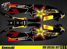 Kit Déco pour / Decal Kit for Jet Ski Kawasaki 800 Sxr - RockStar