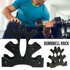 3 Tier Dumbbell Rack Stand Weight Storage Rack Home Gym Shelf Hold Organizer