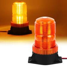 Amber LED Beacon Strobe Light Fork Lift Tractor Truck Vehicle Work Warning Lamp