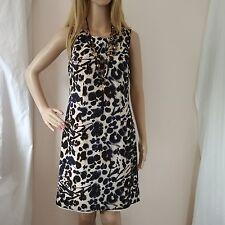 Ann Taylor Silk Career Office Dress 4 watercolor floral