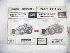 Ih Hough H 70f Payloader Parts Amp Operators Manuals Oem