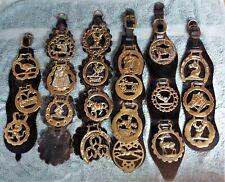 Vintage Collection of 20 Horse Brasses, Job Lot Weight 1901gms