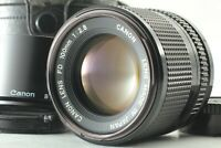 【N MINT in Case】 Canon New FD 100mm f/2.8 NFD Telephoto Portrait Lens From JAPAN