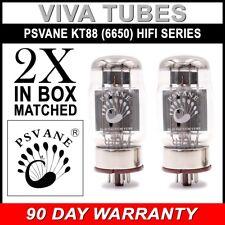 New Current Matched Pair (2) Psvane KT88 (6550) HiFi Series Vacuum Tubes Hi-Fi