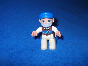 Lego Duplo Ville 1 X Figur Männchen Opa Großvater Graue Haare Cappy Bart 45030