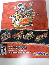 XBOX 360 Street Fighter 25th Anniversary DLC - BRAND NEW
