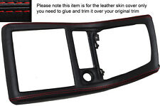 RED STITCH MANUAL GEAR SURROUND SKIN COVER FITS NISSAN SKYLINE R32 89-94