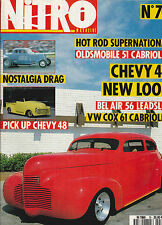 NITRO N° 70 . BEL AIR 1956 . PICK UP CHEVY . VW COX CABRIOLET 1961 . CHEVY 1940