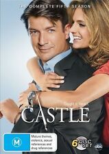 Castle The Complete Fifth Season Five DVD NEW Region 4