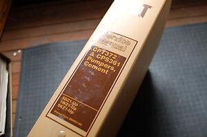 CAT Caterpillar CPT372 CPS361 Cement Pumper Service Manual repair maintenance