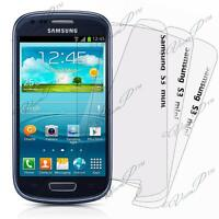 Housse Coque TPU Silicone GEL Soupe S Vague Samsung Galaxy S3 mini i8190 + Film