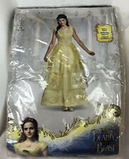 Disney Beauty And The Beast Belle Costume Ball Gown Womens Medium 8-10 New