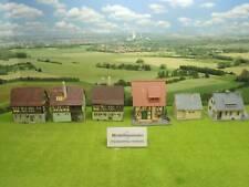 Pola etc H0 Gebäude Konvolut 6 teilig Fachwerkhäuser Wohnhäuser  (GF) C1012