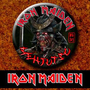 #780 Iron Maiden Senjutsu 2021 WOTW Badge Button Chapa Pin 38mm