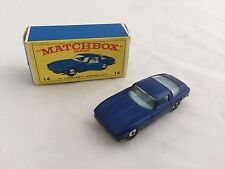 LESNEY MATCHBOX No.14 ISO GRIFO MINT In Original Box