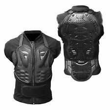 Motorcycle Body Armor Tank Shirt Jacket Street Back Shoulder Protector Gear