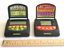 Radica Between Ace Duece Red Dog Poker Electronic 2160 Blackjack 21 Face Up 2155