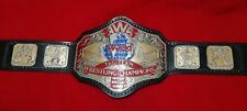 AWA WORLD TAG TEAM BELT IN 4MM ZINC PLATES REAL 24k GOLD & NICKEL PLATING!
