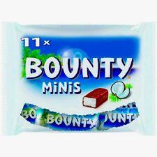 Bounty - Mini Coconut Chocolate Bars - one (1) bag