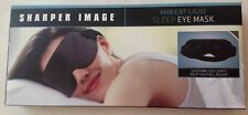 Sharper Image Sleep Eye Mask Soft Ambient Light New in Box