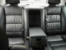 BMW Rear Seat Set E34 Black Leather S2783