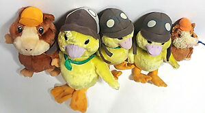 WONDER PETS Plush Lot x5 Linny Ming Ming Stuffed Toys Fisher Price Ty Guinea Pig