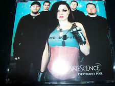 Evanescence Everybody's Fool Rare Australian 4 Track CD Single - Like New