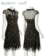 Elie Tahari CECILE Tie Neck Silk Chiffon Floral Print Dress 4 US $498