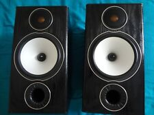 MONITOR AUDIO BRONZE BX2 BLACK SPEAKERS , CABLES BI-WIRE , STANDS