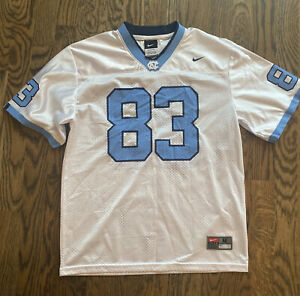 Boys' Nike UNC- North Carolina Tar Heels #83 Jersey, Size Medium  12-14