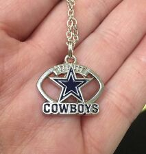 "Western Cowboys Star Dallas Charm Tibetan Silver 18"" Necklace"