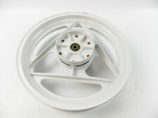 OEM CAGIVA FRECCIA 125 REAR WHEEL RIM WHITE DELTA SPOKE GRIMECA 80B053669