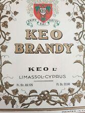 B236 25 KEO Cyprus Lager Pub Beer Mats CoastersUnused