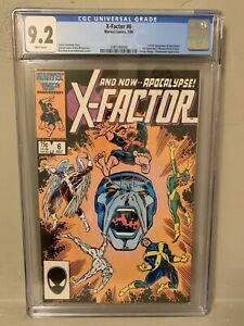 X-Factor #6 CGC 9.2 NM First Appearance Apocalypse!!!