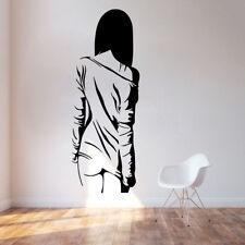 Wall Sticker Sexy Naked Girl Woman Teen Bedroom Vinyl Decals Decor Anime Manga