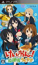 Used PSP Sega K-On! Houkago Live!! Japan Import Free Shipping