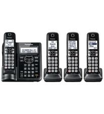 Panasonic Kx-Tgf544B Dect 6.0 4hs Range Boost Noise Reduc 250call Block Dk Tad