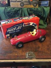 vintage Pagco Gas Powered Tether Car by Paglioso Very Nice never ran with box