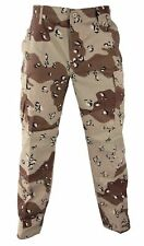 DESERT 6 COLORS BDU PANTS TWILL 6 POCKETS Desert Storm SIZES 3XL