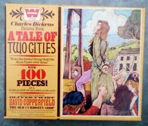 400 LARGE PIECE VINTAGE JIGSAW PUZZLE BY WHITMAN-A TALE OF TWO CITIES