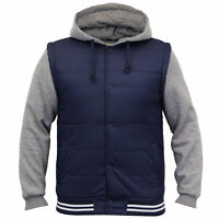 mens jackets Tokyo Laundry coat hooded top padded bomber sweat lined winter new