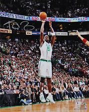 Celtics Kevin Garnett Authentic Signed 16x20 Photo Shooting HOF BAS Witnessed