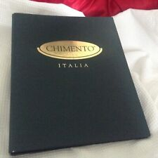 CHIMENTO ITALIA JEWELRY VINTAGE CATALOG THREE RING NOTEBOOK COLLECTORS EDITION