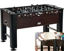 Foosball Table Soccer Game Room Accessories Included Sturdy Construction New