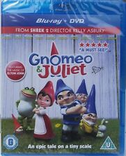 BRAND NEW AND SEALED ( GNOMEO & JULIET ) BRILLIANT CHILDRENS  BLU RAY + DVD