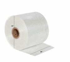 Clear Poly Tubing Plastic Bag Poly Custom Bags On A Roll 10 W X 2150 L 2 Mil