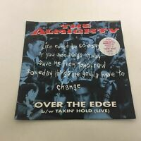 The Almighty : Over The Edge, Limited Edition Marbled Vinyl