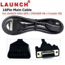 Original OBD2 16 Pin Main Test Cable for Launch X431 GDS / Creader VII+ VIII