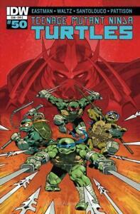 TMNT Teenage Mutant Ninja Turtles #50 IDW COVER C VARIANT 1ST PRINT EASTMAN